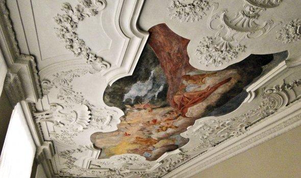 Fresko Deckenmalerei und Stuck