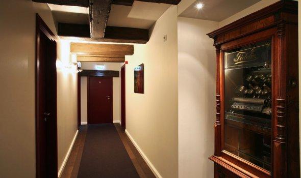 Hotelflur im Hotel Anno 1216