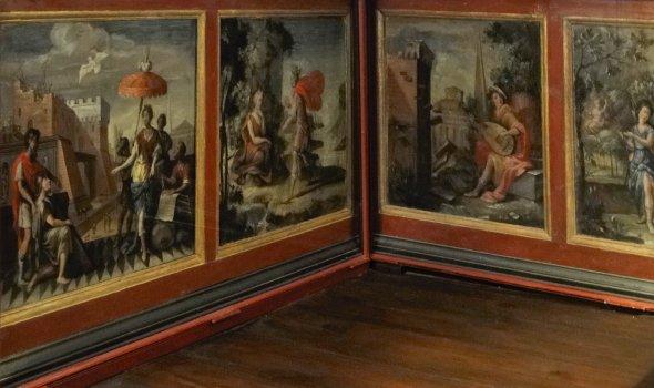 Wandpaneel-Malerei - Metamorphosen des Ovid